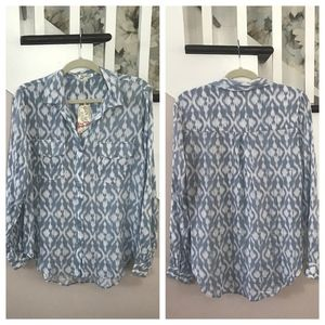 Rag Poets Icat Button Down Shirt